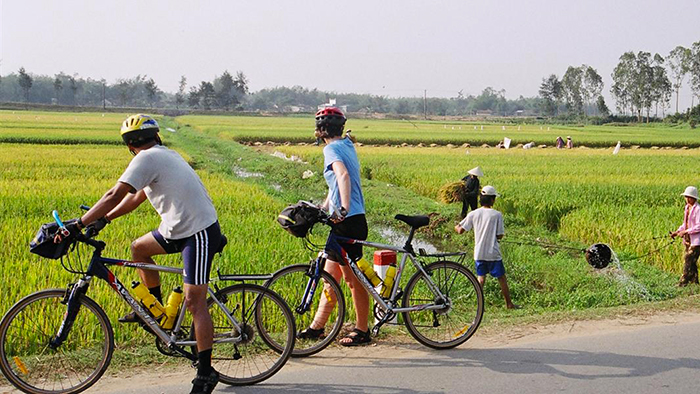 A bike tour in Mekong is also very interesting