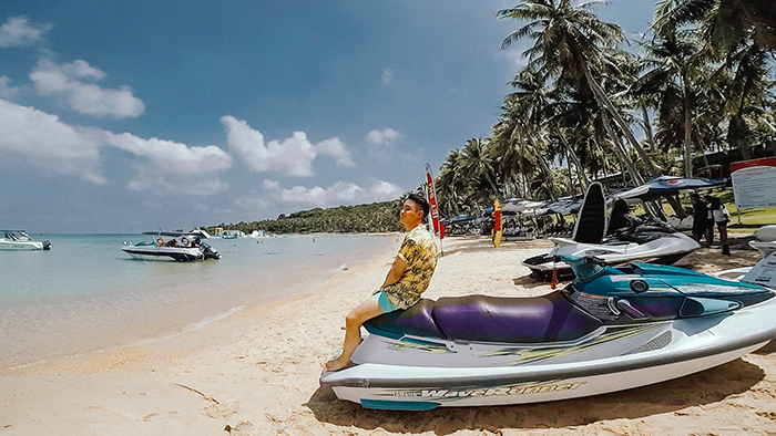 Enjoy the water sports on Phu Quoc beaches