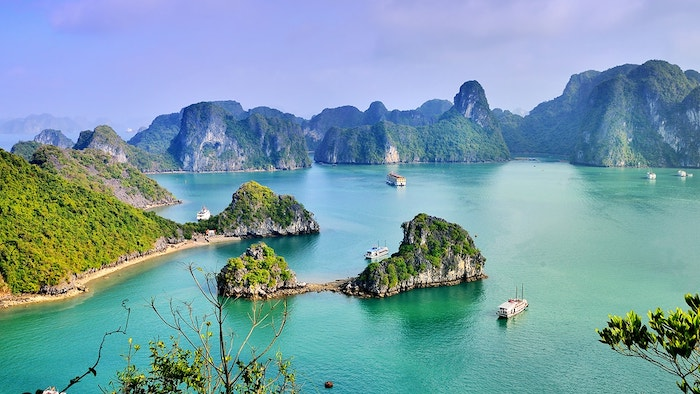 You will enjoy the sunny days in Halong in July