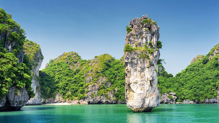 Halong Bay's beauty in June
