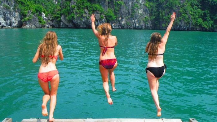 Summer is the ideal time for traveling to Halong Bay