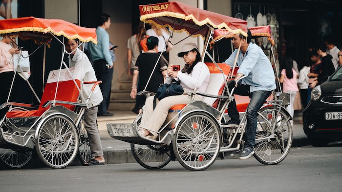 Cyclo in Vietnam