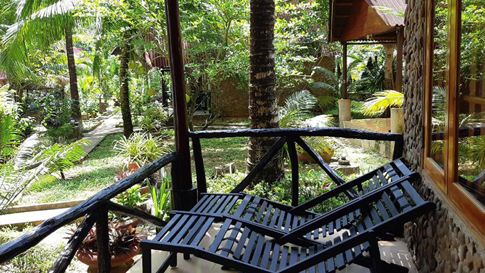 The natural space at Mai Phuong Resort