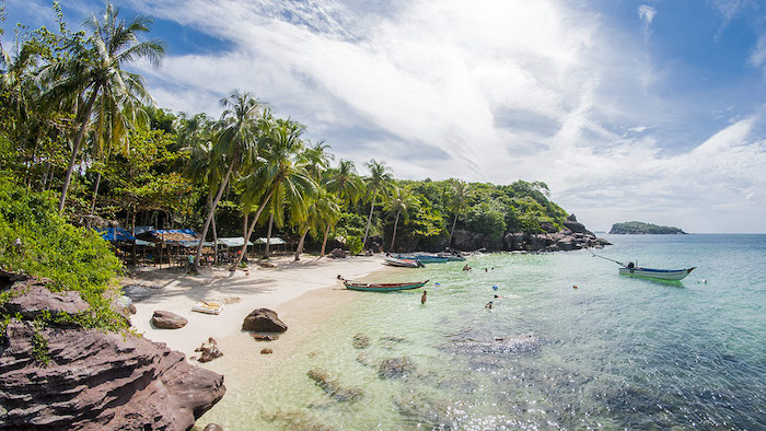 Beautiful island beaches of Phu Quoc