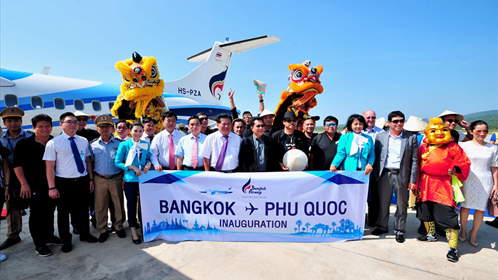 Various routes to Phu Quoc have been open