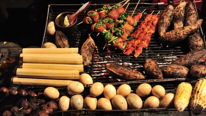 Sapa grilled cuisine
