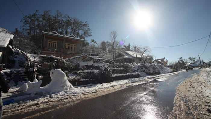 Sapa in winter