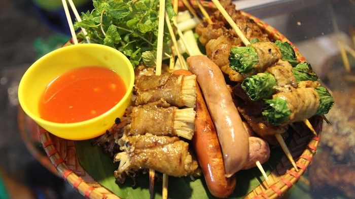 The tasty grilled cuisine of Sapa