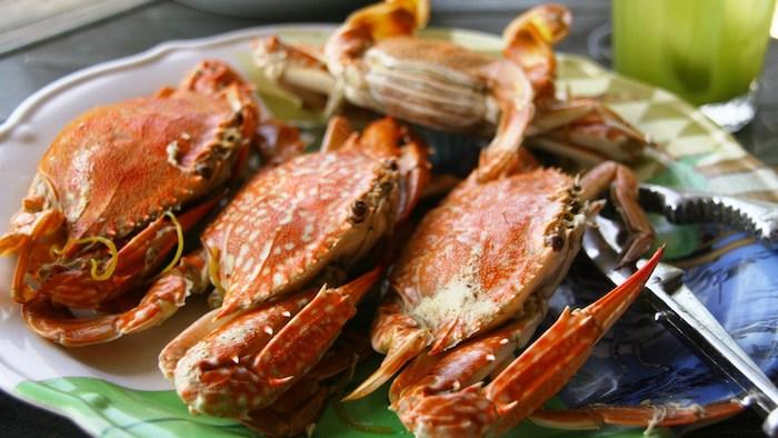 Ham Ninh crabs