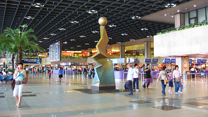 The modern facilities of Tan Son Nhat