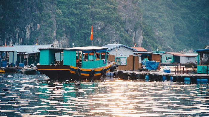 The ancient beauty of Cua Van fishing village