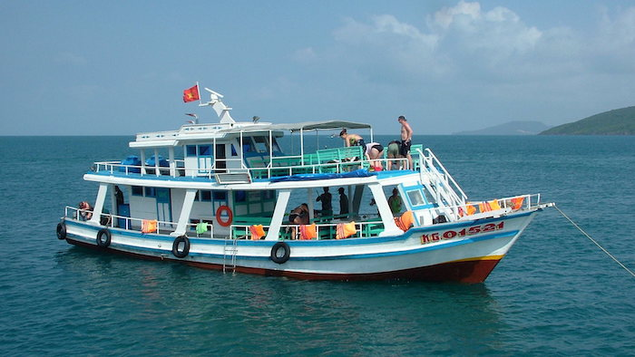 Exploring Phu Quoc by boat