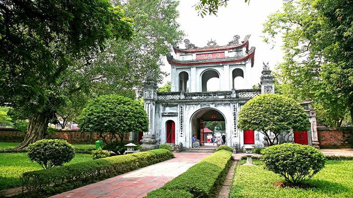 The Temple of Literature (via vietravelmagazine)