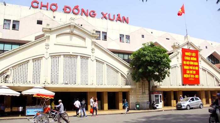 Dong Xuan market of Hanoi (vietnamnet.vn)