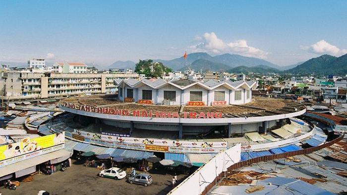 Dam market, Nha Trang city