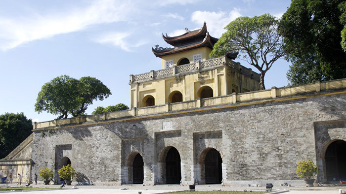 The ancient citadel of Thang Long