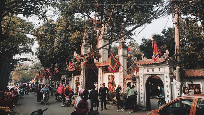 Ha pagoda of Hanoi city