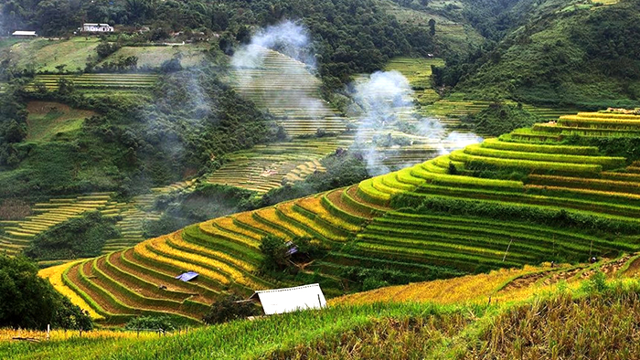The beauty of Mu Cang Chai in September