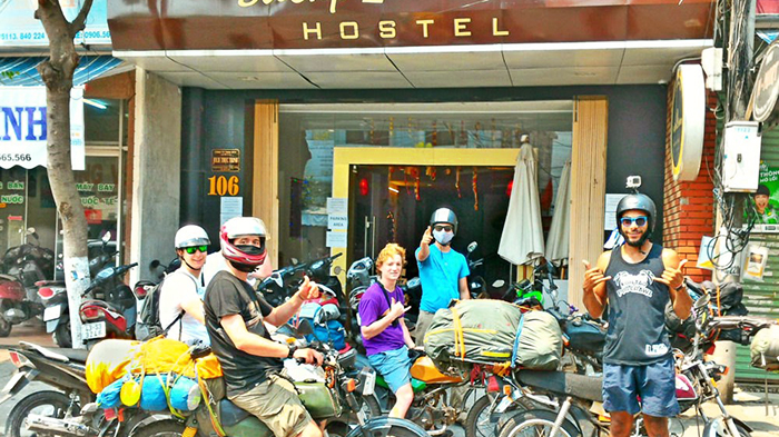 Danang Backpacker Hostel is the favorite place of foreign tourists to Da Nang