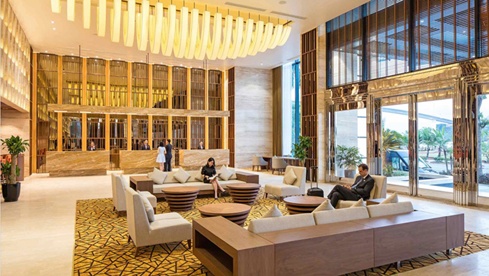 The luxury space in Wyndham Legend Halong Hotel