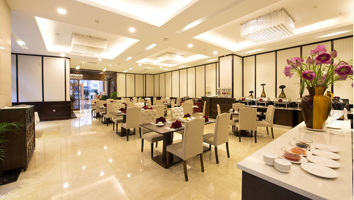 Muong Thanh Halong hotel restaurant