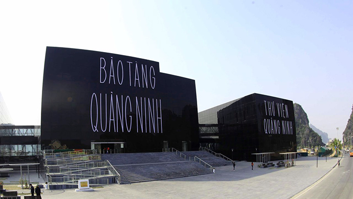 The unique structure in Quang Ninh Museum