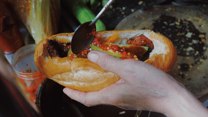Banh mi Vietnam is very famous in the world