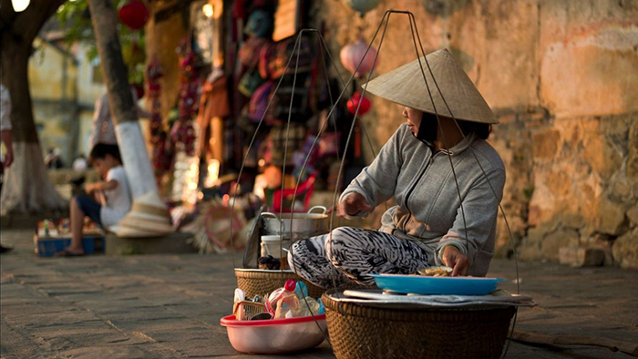 Hanoi is well-known for street food vendors