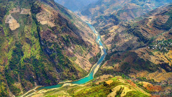 Nho Que river in Ha Giang