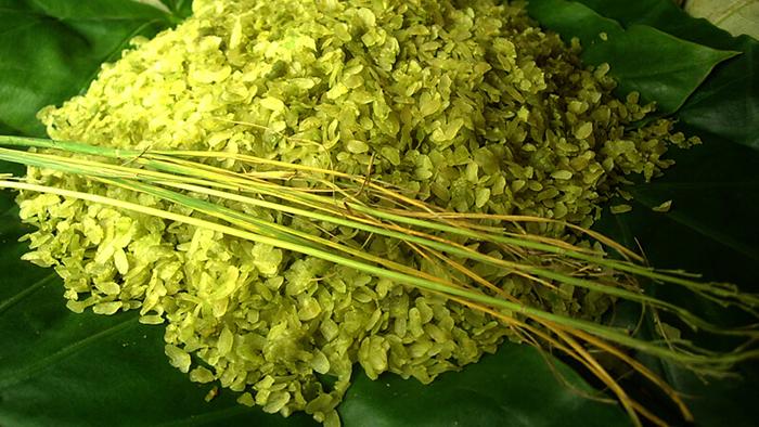 Hanoi green rice
