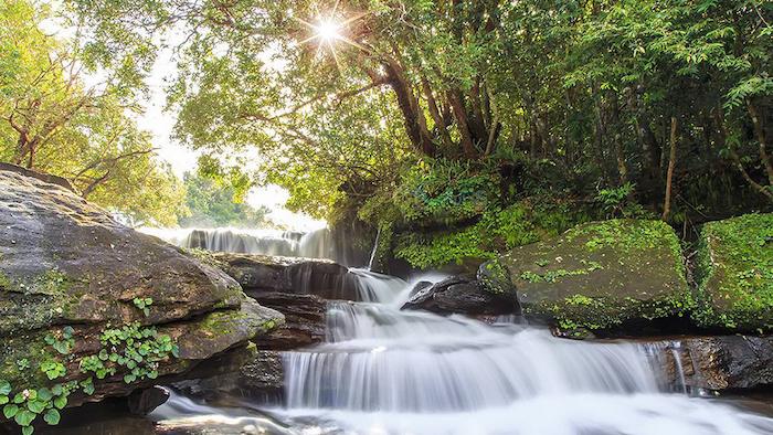 The beauty of Tranh stream