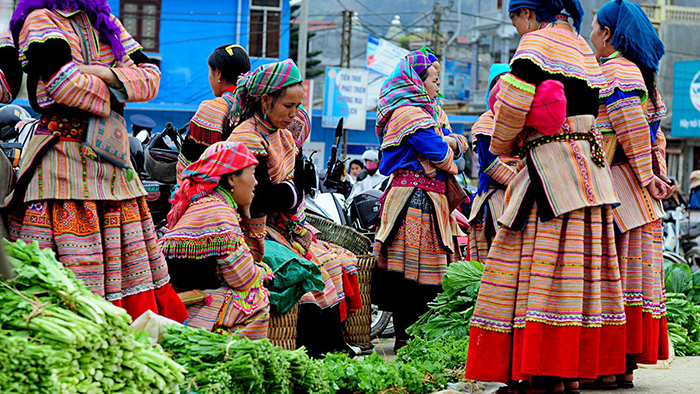 A culture in Bac Ha people's lifestyle
