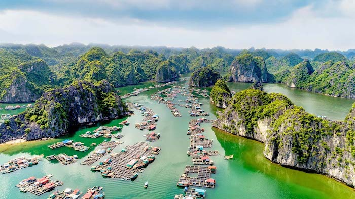 Halong Bay of Vietnam