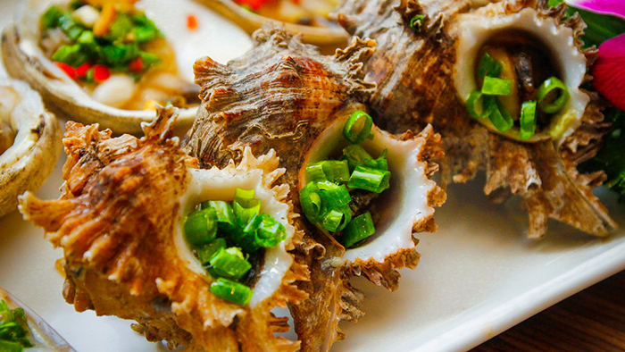 The fresh seafood of Phu Quoc