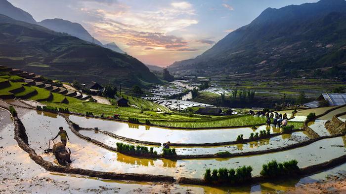 The watering season in Sapa