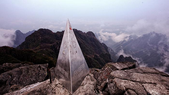 Fansipan peak in Sapa