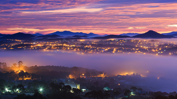 Dalat - the city of mist
