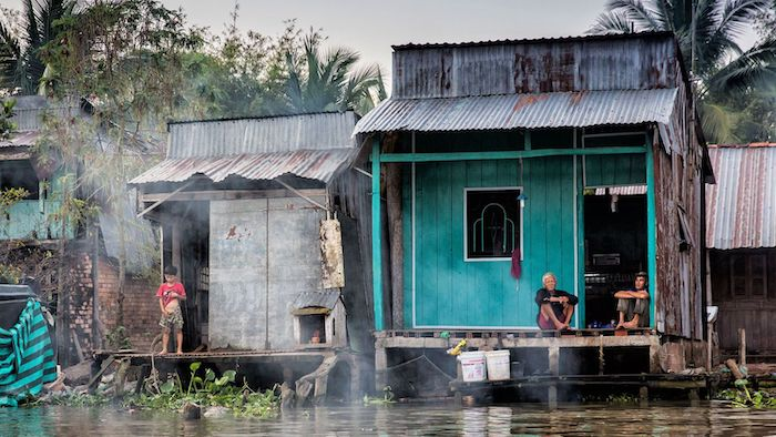 The life in the Mekong Delta