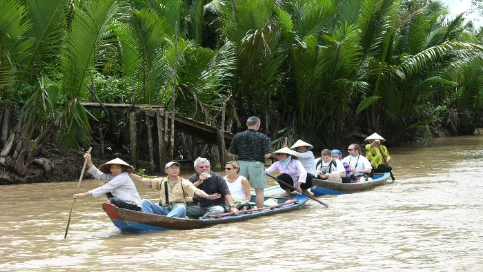 Ben Tre tours always bring visitors interesting experience