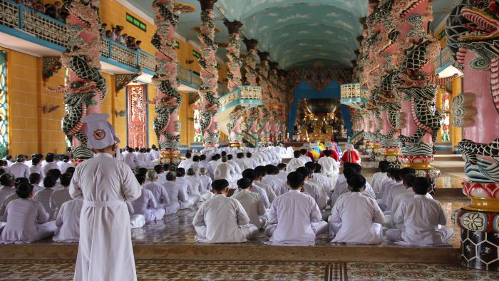 Cao Dai become the specific religion of Mekong Delta