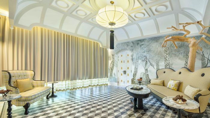 The luxury space of Chanterelle Spa