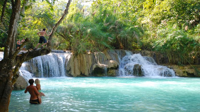 Discover Kuang Si Waterfall-One Of The Most Beautiful Natural Pools In The World