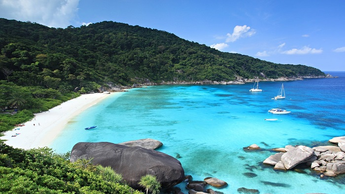 Discover the picturesque beauty of the Similan Islands