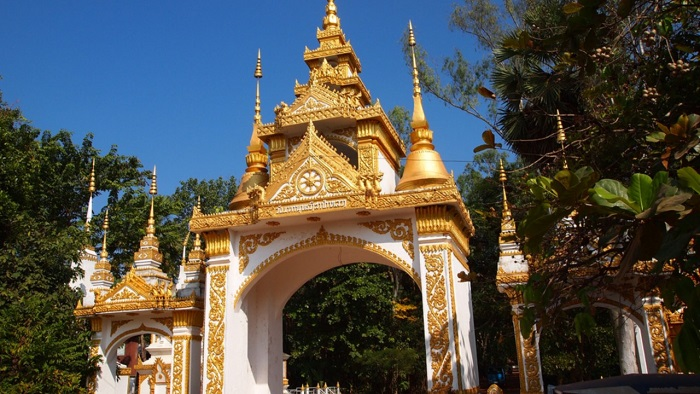 Enjoy relaxing massage time after a long vacation in Laos with Wat Sok Pa Luang