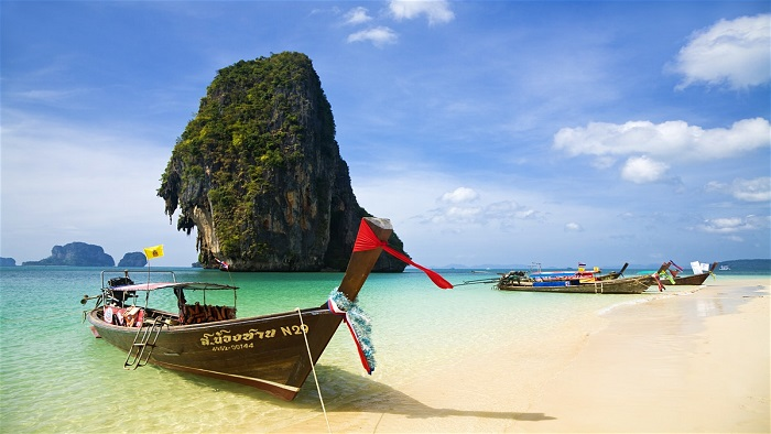 Explore Railay Beach - One of the most famous beaches in southern Thailand