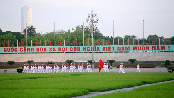 Visit Ba Dinh Square - where Vietnam's Independence was declared