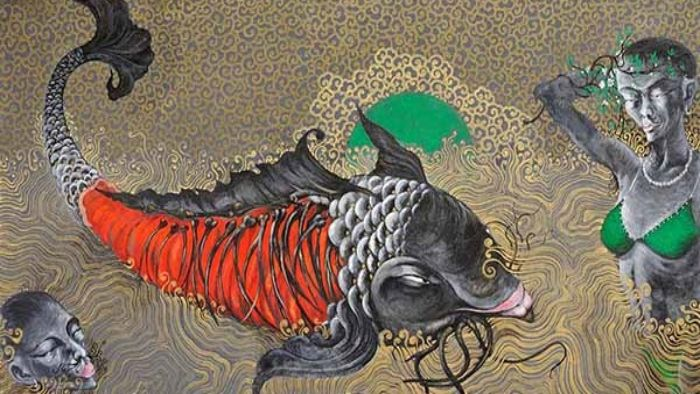 Artist Pham Huy Hung exhibits inspire the human mind and soul