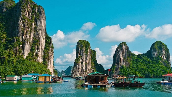 Halong Bay - one of the seven new natural wonders in the world