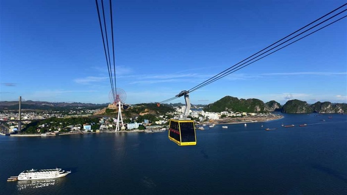Visit Halong Bay by Cable Car